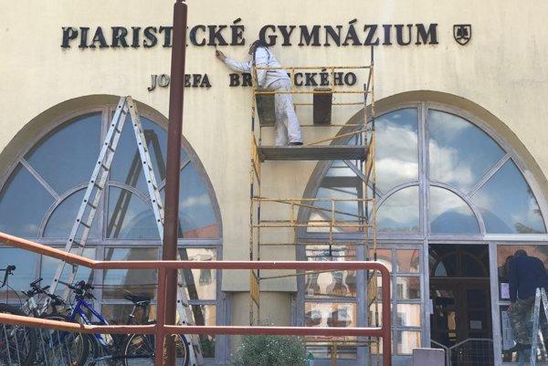 Piaristické gymnázium v Trenčíne.