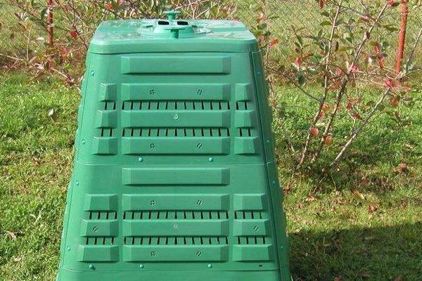 Kontajner na kompost.