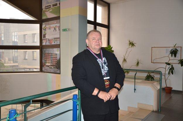 Prezident federácie WPC Peter Mihály.