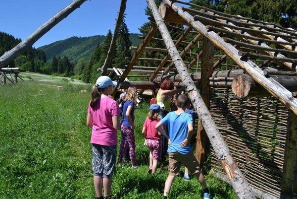 Archeopark Liptovia je projekt živej pravekej osady, ktorá sa buduje od roku 2015 južne od obce Partizánska Ľupča.