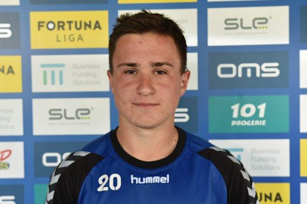 Na snímke futbalista Adam Rechtorík, ktorý prišiel do FK Senica na skúšku z dorastu AS Trenčín na začiatku letnej prípravy na novú sezónu Fortuna ligy.