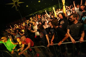 Festival má množstvo fanúšikov.