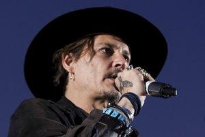 Americký herec Johnny Depp.