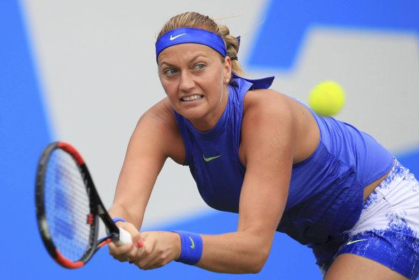 Petra Kvitová postúpila v Birminghame už do finále.