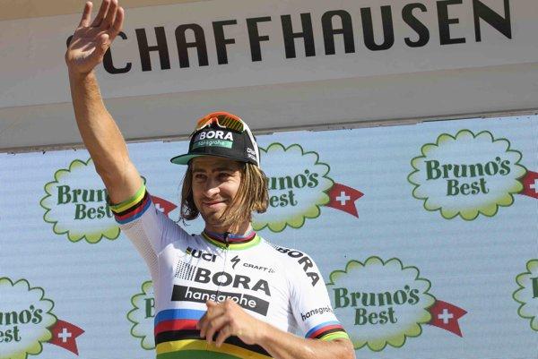 Sagan chce na Slovensku triumfovať.