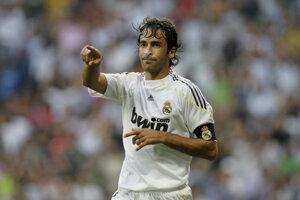 Meno Raúla Gonzáleza je najvýznamnejšie spájané s Realom Madrid.