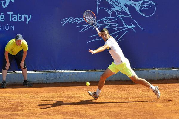 Tento rok ešte tenisti bojovali na antuke v Poprade.