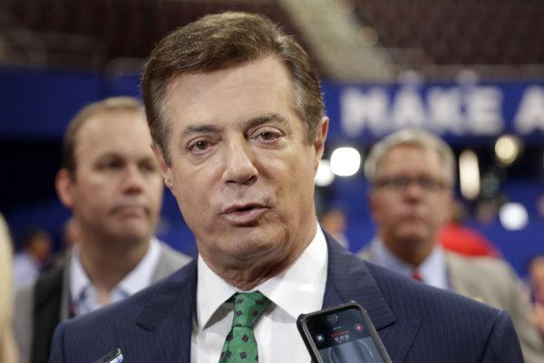 Bývalý šéf Trumpovho volebného štábu Paul Manafort.