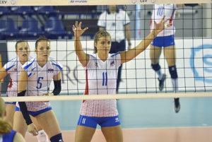 Slovenské volejbalistky prehrali aj druhý zápas.