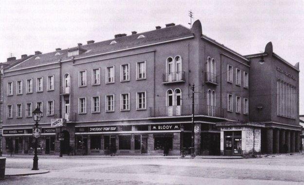 Budova obchodnej a priemyselnej komory v 30. rokoch 20. stor.