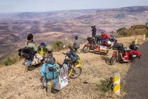 Pioniere to v Etiópii dotiahli až do nadmorskej výšky 3126 metrov nad morom.