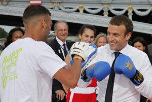 Francúzsky prezident Macron