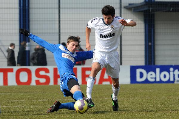 Enzo Zidane (vpravo) je produktom mládežníckej akadémie Realu.