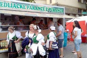 Na jarmoku budú ponúkať aj tradičné jedlá.