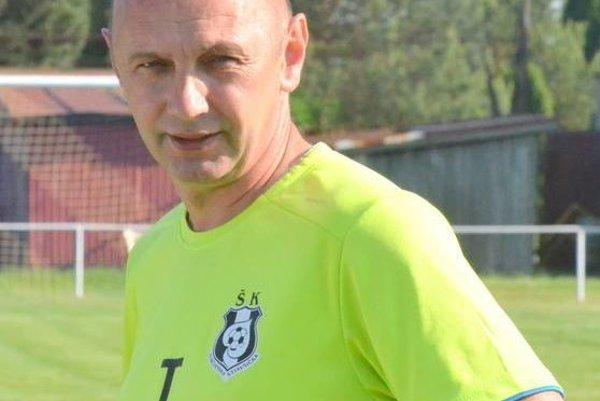 Tréner Turčianskej Štiavničky Tibor Rataj.