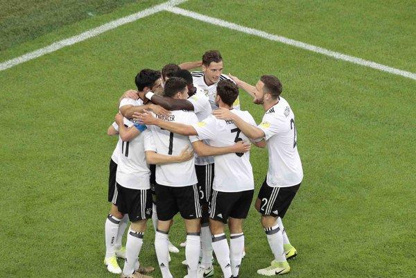 Futbalisti Nemecka - ilustračná fotografia.