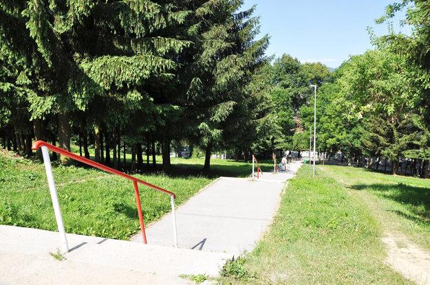 Páchateľ si na mladú ženu počkal pri tomto chodníku.