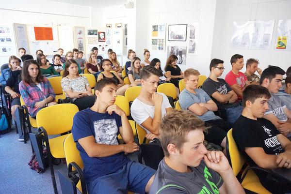 Študentov príbeh Jozefa Gabčíka zaujal.