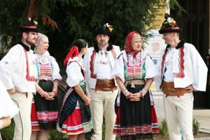 Folklórna skupina Vrbové prútie.