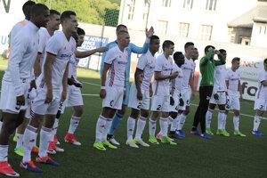 Prvé predkolo Európskej ligy. 29. júna 2017. AS Trenčín - Torpedo Kutaisi 5:1.