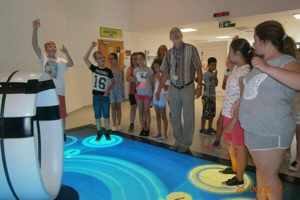 Deťom sa v Energolande veľmi páčilo.