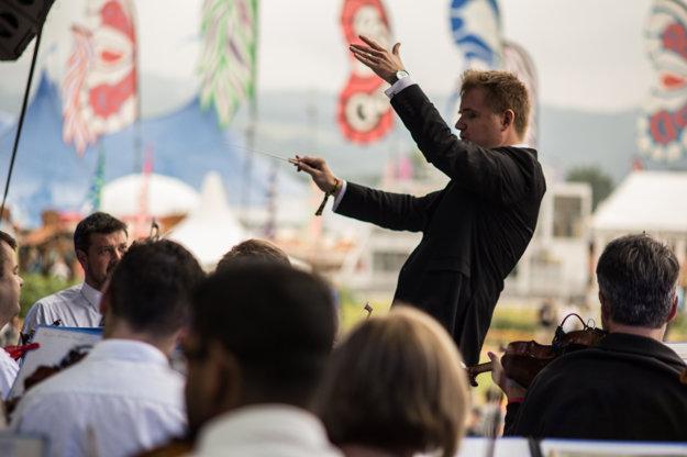 Symfonický orchester Slovenského rozhlasu na Pohode 2017.
