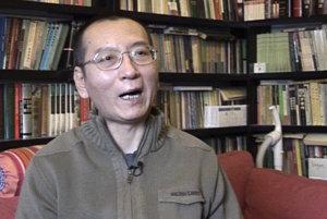 Nositeľ Nobelovej ceny za mier a známy čínsky disident Liou Siao-po.