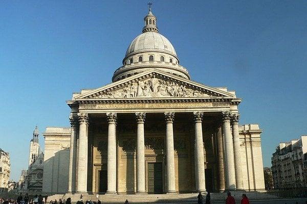 Panteón v Paríži.