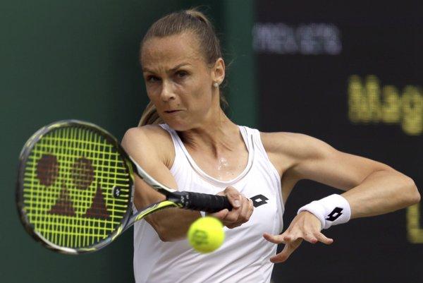 Magdaléna Rybáriková sa vo Wimbledone prebojovala do osemfinále.