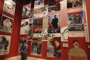 Výstava v múzeu druhej svetovej vojny v poľskom Gdansku.