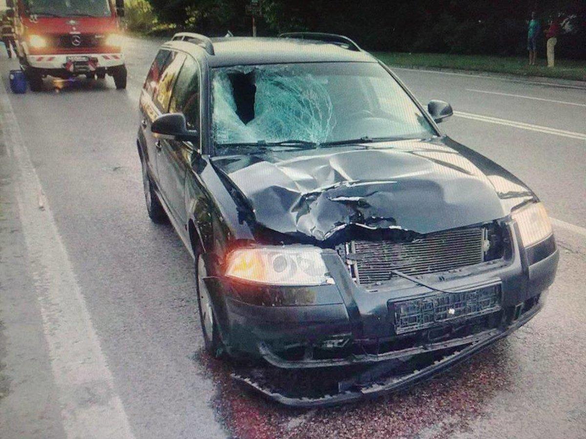 5e90d4fad Opitý vodič zabil na Hlbokej ženu, ulica je uzavretá - SME | MY Trnava