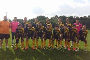 Víťazné družstvo juniorov ŠK Šurany