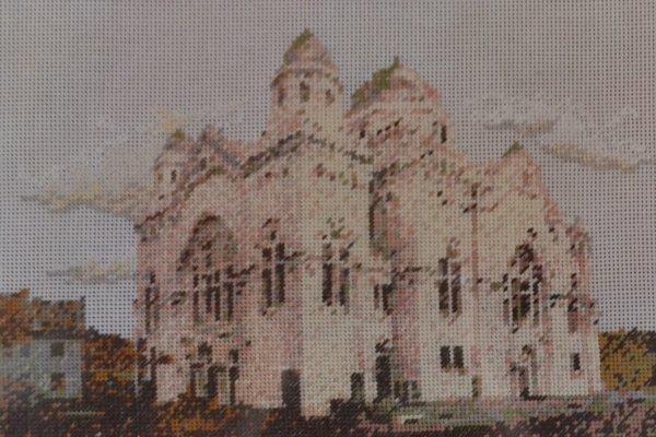 Židovská synagóga v Lučenci.