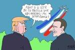 Trump u Macrona (Sliacky) 15. júl