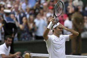 Roger Federer akoby neveril, že vyhral ďalší grandslamový turnaj.