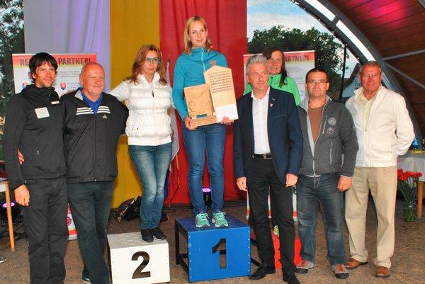 Absolútna víťazka Patrícia Puklová (v strede).