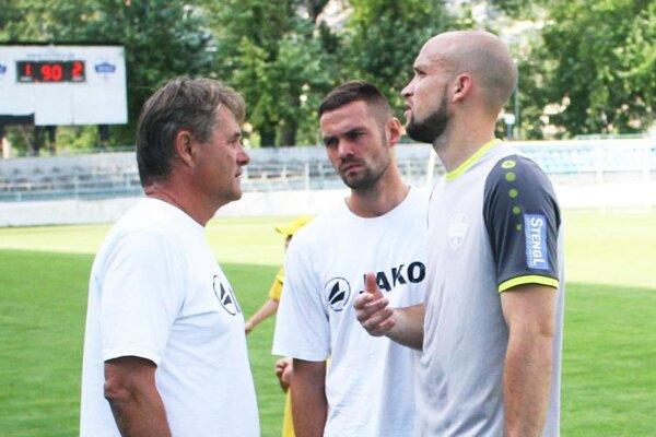 Lukáš Hroššo (vpravo) ráta s podporou fanúšikov po návrate do prvej ligy.