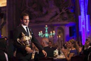 Roger Federer akoby ani nestarol.