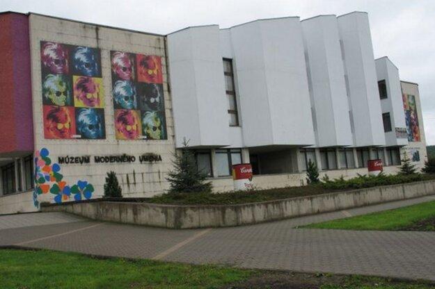 Múzeum A. Warhola v Medzilaborciach.