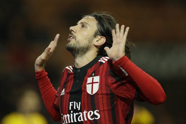 Cristiano Zaccardo si v minulosti obliekal aj dres AC Miláno.