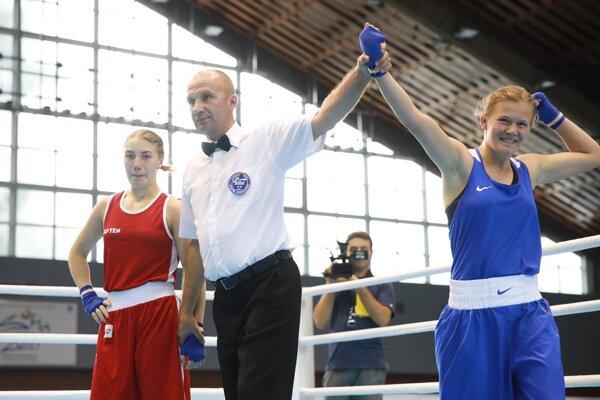 Jessica Triebeľová (vpravo) vyhral druhý európsky titul za sebou.