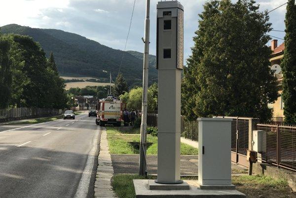Radar v Drietome.