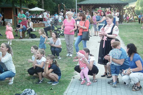 Program sledovali malí aj veľkí návštevníci.