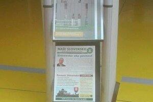 V stojane pri univerzitnom periodiku sa objavil časopis kontroverznej parlamentnej politickej strany. Univerzita sa od kotlebovcov dištancovala.