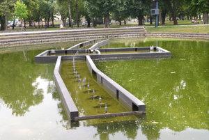 Fontána v Mestskom parku nefunguje.