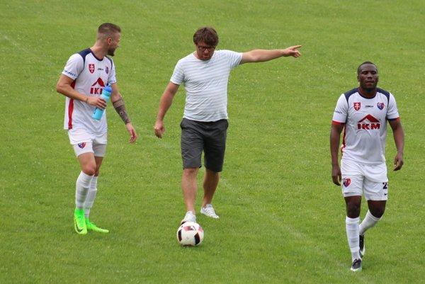 Moravčík po jednom z  prípravných zápasov Zvolena