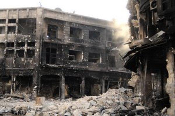 O chemických zbraniach v Sýrii hovorí čoraz viac štátov.