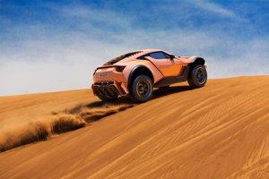 Zarooq Sandracer 500 GT si má hravo poradiť s púštnymi dunami aj diaľnicou.