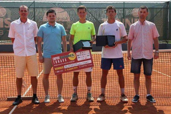 V roku 2015 vyhral turnaj vo dvojhre domáci hráč Martin Blaško.