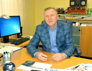 Generálny riaditeľ. Stanislav Hreha je vo vodárňach zároveň predsedom predstavenstva.